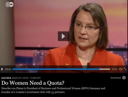 DW Agenda – Do Women Need a Quota?
